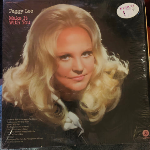 Peggy Lee - Make It With You LP Vinyl - Used 70's