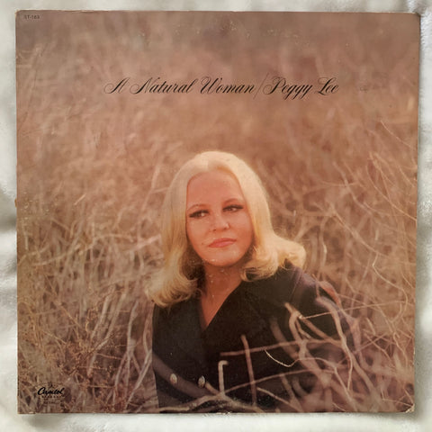 "Peggy Lee - ""A Natural Woman""  Vinyl - Used 70's"