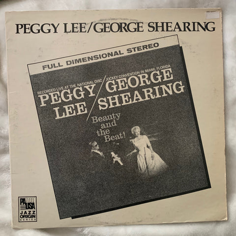"Peggy Lee - ""Beauty and the Beat!"" 1985 re-isseue LP used Vinyl"