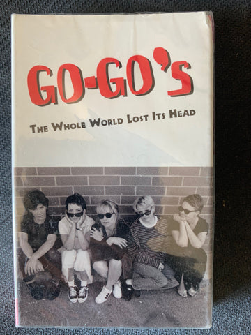 "The Go-Go's - ""The Whole World Lost It's Head""  Audio Cassette Single - New"