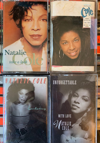 Natalie Cole - 4 original cassette tapes - Used in VG++=