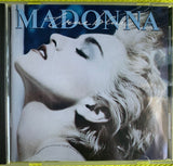 Madonna - 80's second pressing TRUE BLUE (with Name & Title on cover) Used CD
