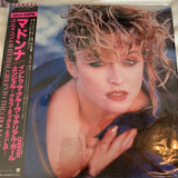 "Madonna Angel / Into The Groove / Material Girl Japan 12"" LP Vinyl -"