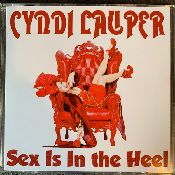 Cyndi Lauper:  SEX is in the Heel (REMIXES) Promo CD single