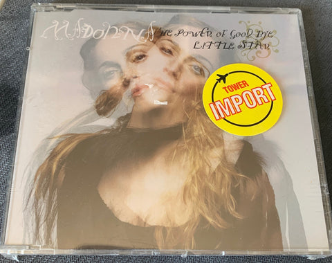 MADONNA - The Power Of Goodbye/ Little Star (Import) CD single -New/Sealed