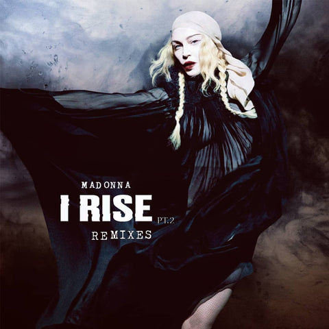 Madonna - I Rise (THE REMIXES) CD Single (DJ)  (New artwork as of December)
