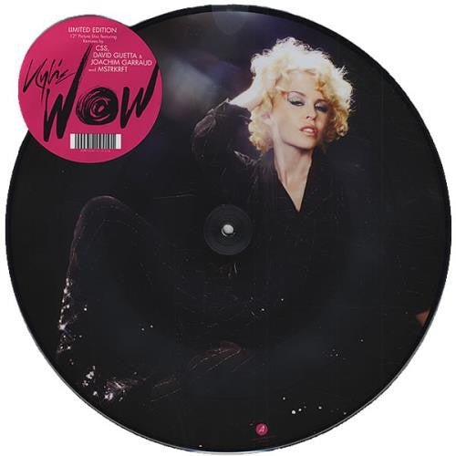 "Kylie Minogue - WOW 12"" Vinyl Picture Disc"