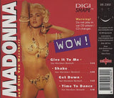 Madonna - WOW! Limited Edition Digi-shape picture cut CD (Used)