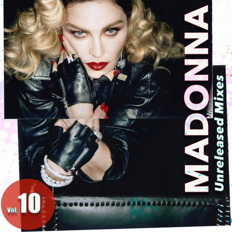 Madonna - Unreleased Mixes vol. 10 CD