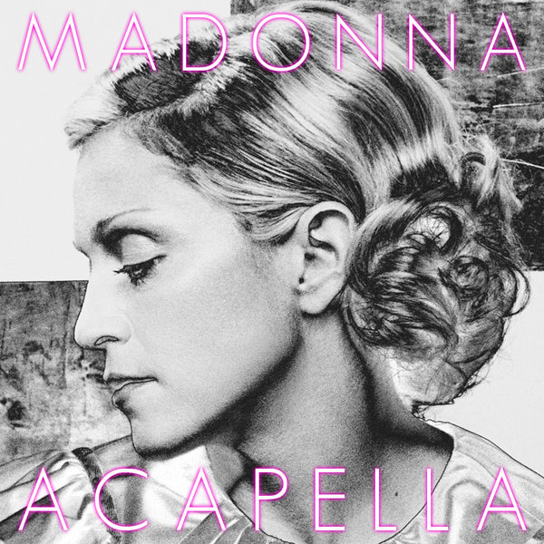 MADONNA The Acapella Collection CD