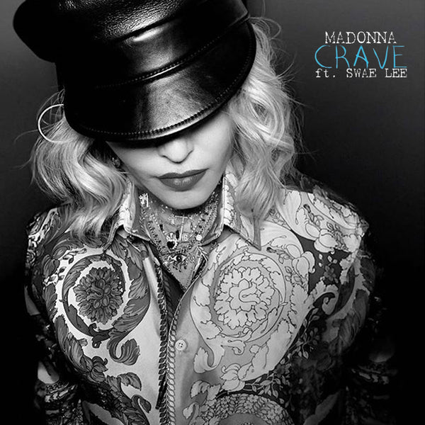 Madonna - CRAVE (The Remixes) CD Single (DJ) version 1 artwork