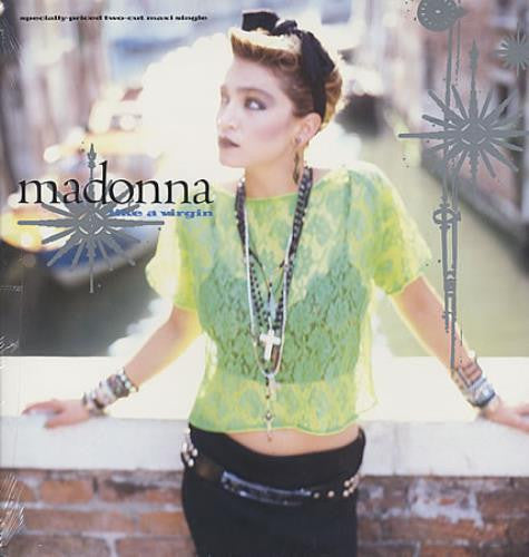 "Madonna - Like A Virgin (USA 12"" Vinyl) Used in VG+"