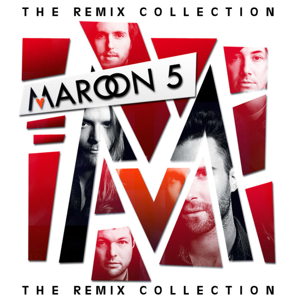 Maroon 5 REMIX Collection CD