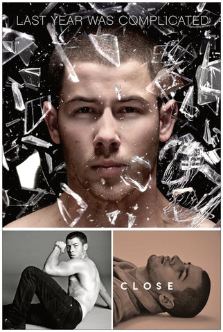 Nick Jonas - Last Year Was Complicated Promo poster 24x36
