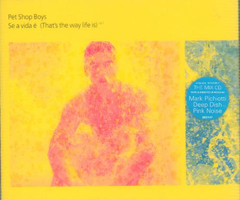 Pet Shop Boys - Se A Vida e (that's the way it is ) - Import CD single - Used