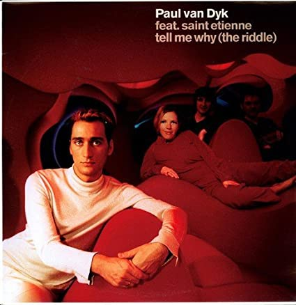 Paul Van Dyk ft: Saint Etienne - Tell Me Why (USA Maxi remix CD single) Used