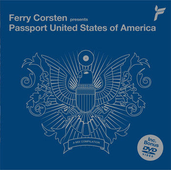 Ferry Corsten – Passport United States Of America - Bonus DVD - Used CD