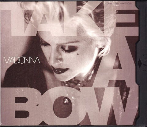 MADONNA - TAKE A BOW (US Maxi CD single) Used
