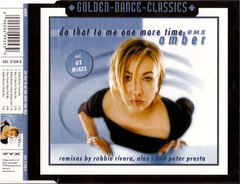 Amber - Do That To Me One More Time - Remix CD Maxi Single