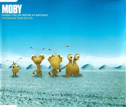 Moby - Sunday (The Day Before My Birthday): Australian Tour Edition - USED CD Single