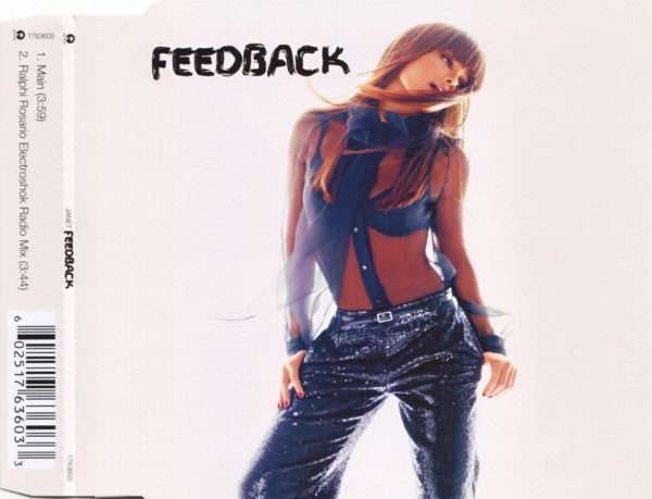Janet Jackson - Feedback - Import CD Maxi-single
