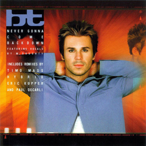 BT Featuring M. Doughty* ‎- Never Gonna Come Back Down (Remixes) - Used CD Single