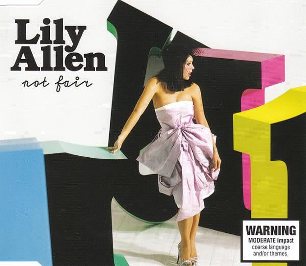 Lily Allen - Not Fair - USED Promo CD Single