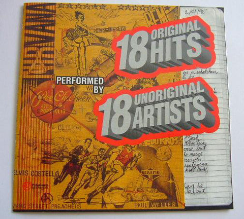 18 Original Hits performed by 18 Unoriginal Artist (Various) CD Promo - Used