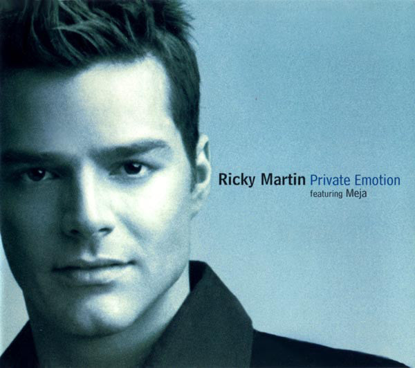 Ricky Martin feat. Meja - Private Emotion - Used CD Single