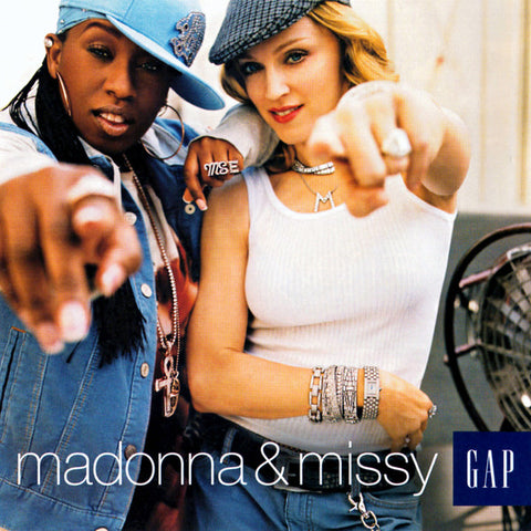 Madonna & Missy Elliot - Exclusive GAP CD - Hollywood Groove - NEW/sealed