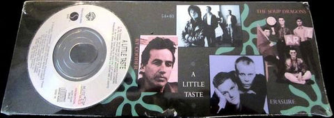 "A Little Taskt - 3"" CD sampler - Erasure, Soup Dragons, Ry Cooder, 54-40  - NEW"