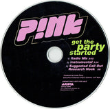 Pink (P!nk) - Get The Party Started - USED CD Promo Single (2001)