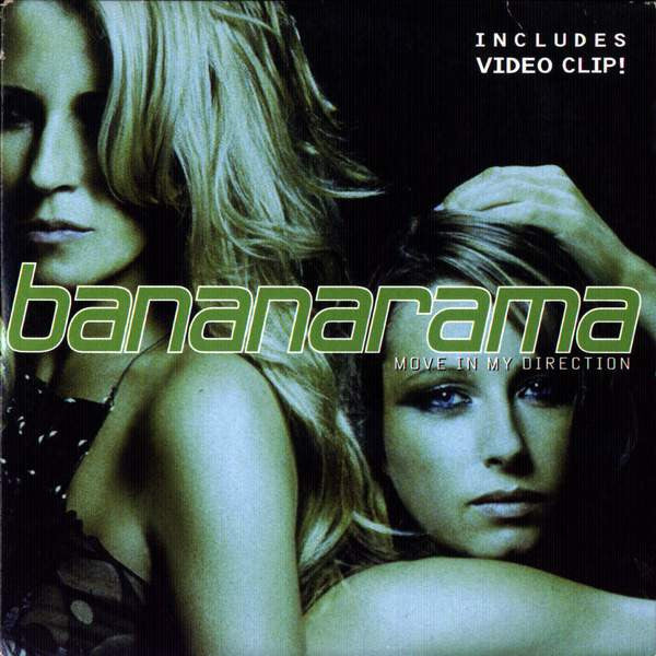 Bananarama - Move In My Direction - IMPORT CD Paper Sleeve