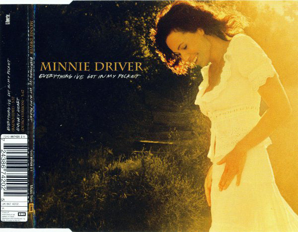 Minnie Driver ‎- Everything I've Got In My Pocket - Used CD Single