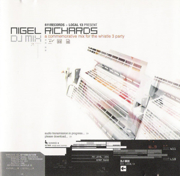Nigel Richards DJ Mix - Whistle 3 Party - CD