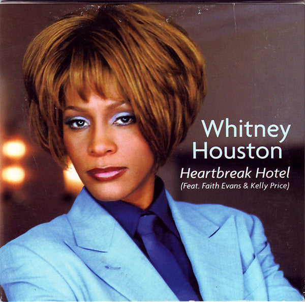 Whitney Houston Feat. Faith Evans & Kelly Price ‎- Heartbreak Hotel - Used CD Single