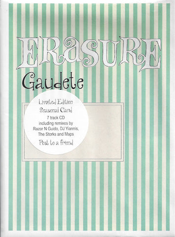 Erasure - Gaudete - Import CD Maxi-Single