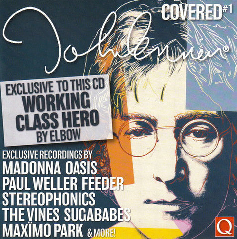 Lennon Covered #1 - Q Magazine CD - New (Madonna, Sugababes, Oasis++)