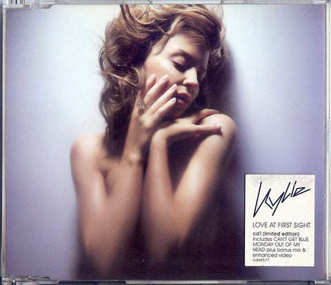 Kylie Minogue - Love At First Sight - Used CD Single