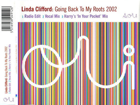Linda Clifford - Going Back To My Roots 2002 - IMPORT CD Maxi-single