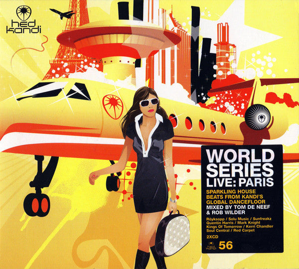 Hed Kandi - World Series Live: Paris - Import 2CD