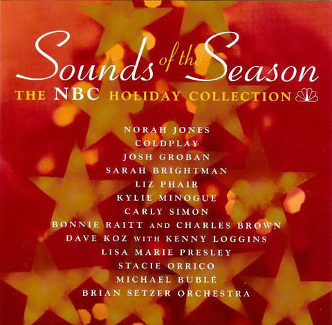 Sounds of the Season - The NBC Holiday Collection (Kylie, Buble, Norah ++- Used CD