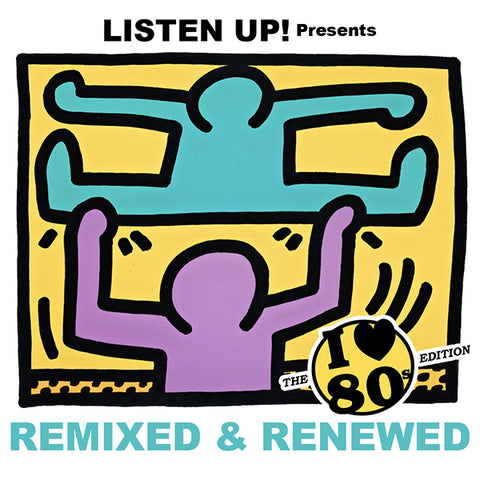 "Remixed & Renewed Vol.3 ""80's Edition"" - DJ CD"