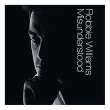 Robbie Williams - Misunderstood (Import CD single)