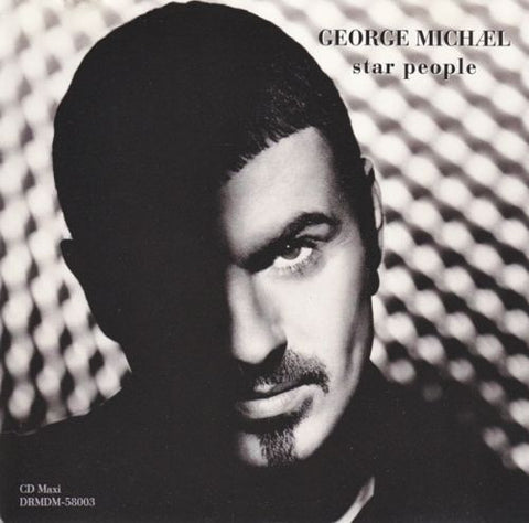 George Michael - Star People USA Remix CD single (USED)