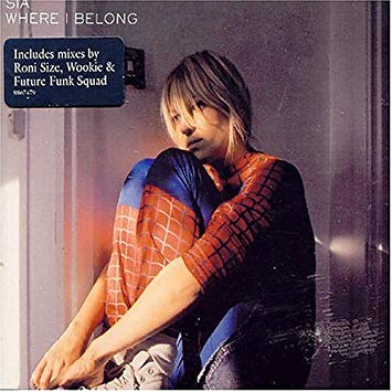 SIA - Where I Belong (Import) CD single