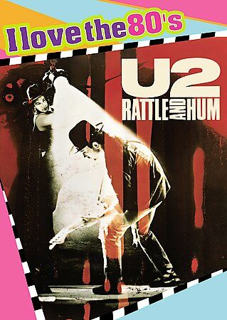 U2 - Rattle and Hum DVD (I Love the 80s) Used like new