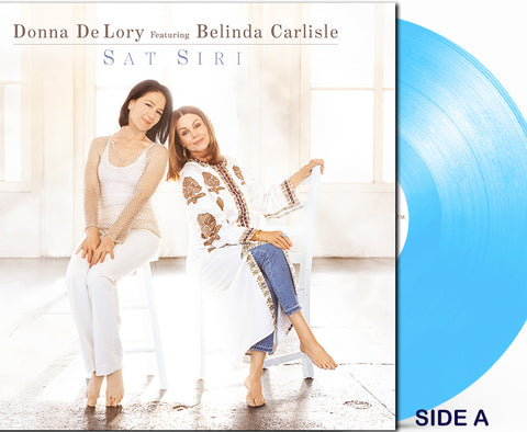 "Donna De Lory ft: Belinda Carlisle - SAT SIRI (Limited Edition 12"" colored LP)  PRE-ORDER Vinyl"