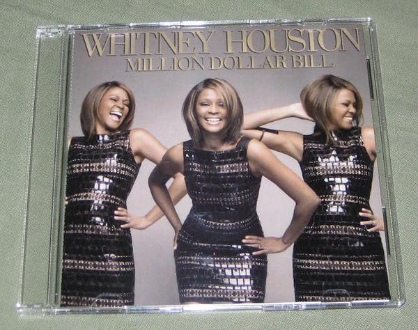 Whitney Houston - Million Dollar Bill / I Look To You (DJ CD Single)