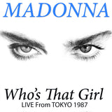 MADONNA Who's That Girl LIVE in TOKYO 1987 2PC CD